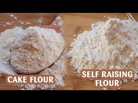 Homemade Cake Flour | Self Raising Flour Recipe | How To Make Cake Flour & Self Rising Flour At Home