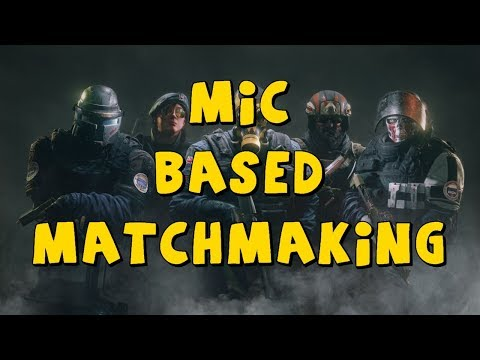 rainbow six siege matchmaking issues