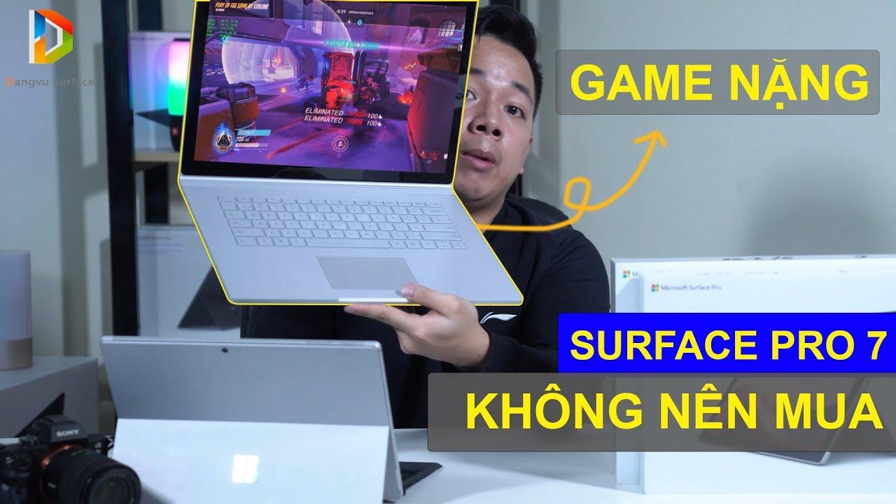 7 lí do không nên mua Surface Pro 7 !!!