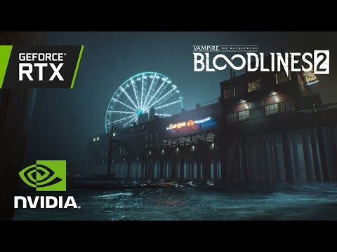 Vampire: The Masquerade – Bloodlines 2   Official GeForce RTX Ray Tracing Reveal Trailer