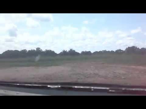 Let410 landing in Tembo, DRC-Angola boundary