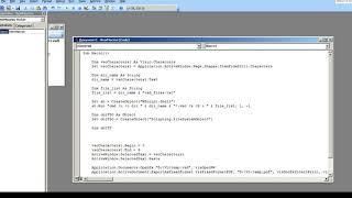 конвертируем потоком много VSD (VISIO) файлов в PDF формат