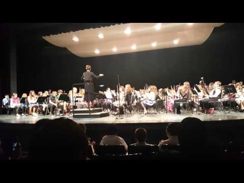 Star Wars - Portage Middle School concert 3/3/16