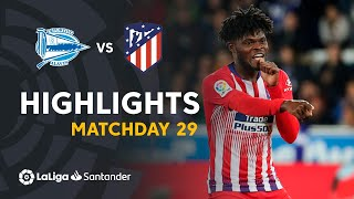 Highlights Deportivo Alaves vs Atletico de Madrid (0-4)