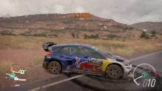 2016 Ford Gymkhana 9 Focus RS RX - Speed Jump Crash Test - Forza Horizon 3 - 1440p 60fps
