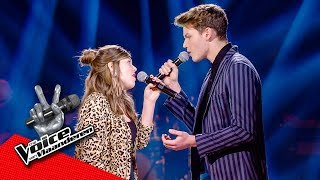 Robin en Anna zingen 'Someone New' | The Battles | The Voice van Vlaanderen | VTM