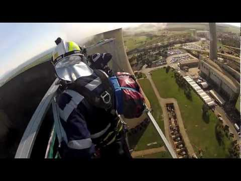 How to exit a helicopter at 120 meters.