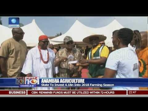 Obiano Visits Ogbaru, Flags Off 2018 Planting Season