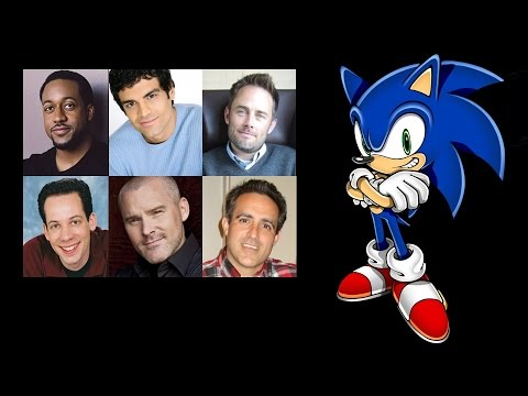 Comparing The Voices Sonic The Hedgehog Youtube