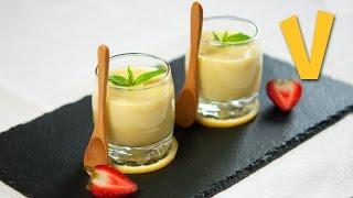 Lemon Custard | The Vegan Corner