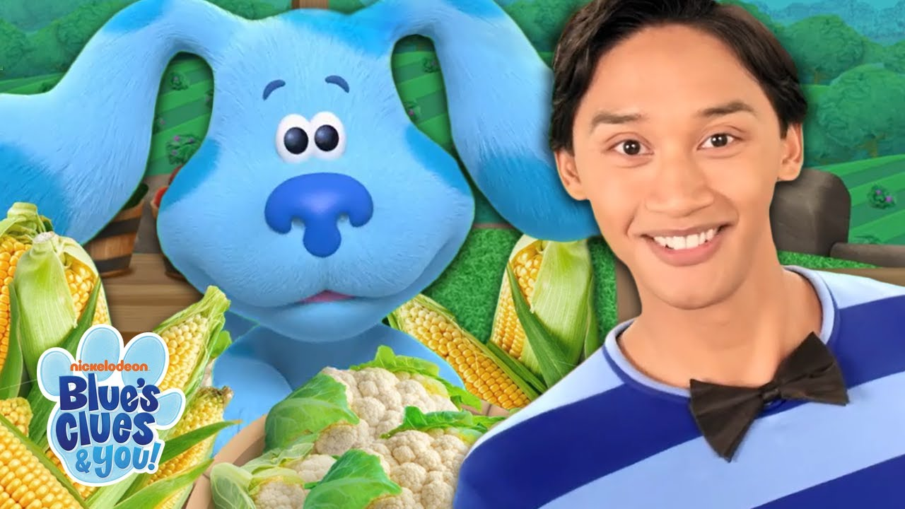 Download Vegetable Farm Skidoo w/ Josh & Blue! | Blue's Bistro | Blue's Clues & You!
