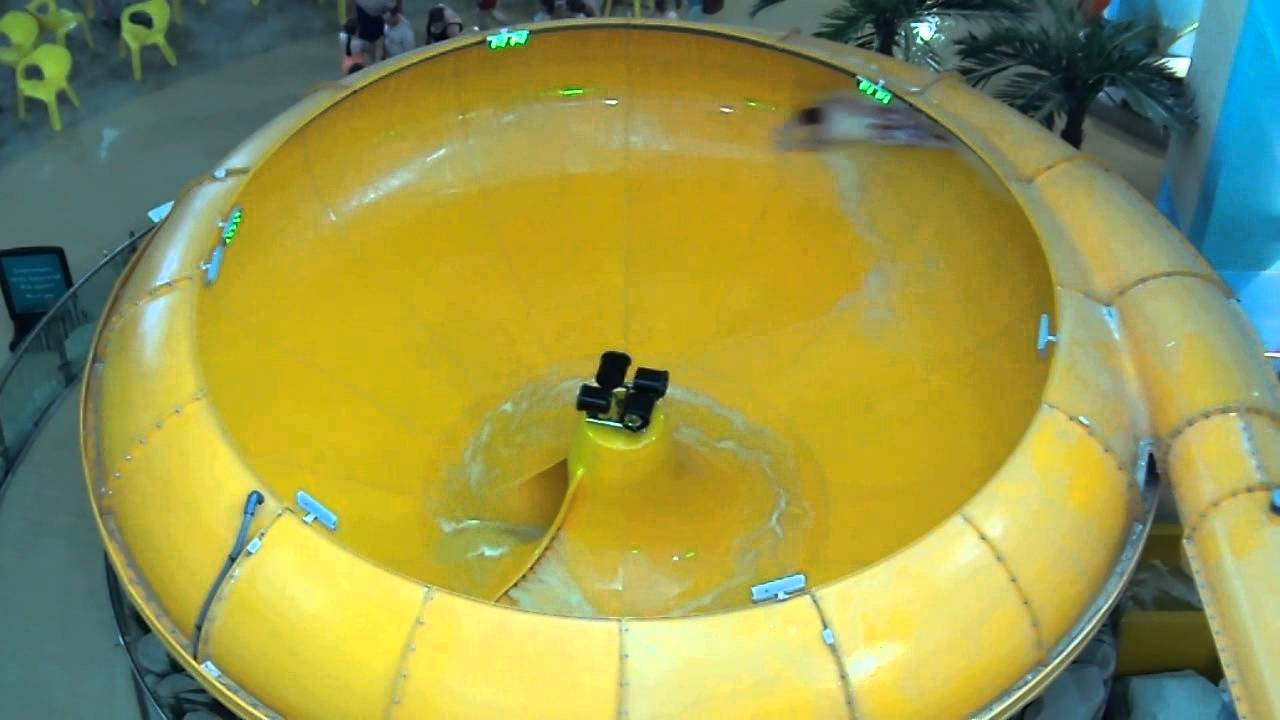 Waterglide In Space Bowl At Butlins Waterpark Youtube