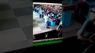 Some dude in a Brazilian supermarket