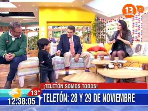 Teletón 2014 - Lanzamiento en Bienvenidos