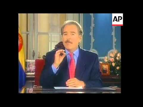 COLOMBIA: PRESIDENT PASTRANA ECONOMY SPEECH