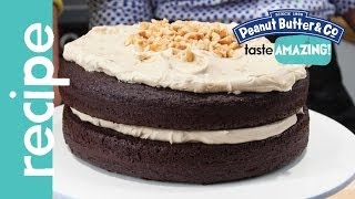 Chocolate Peanut Butter Crunch Cake Recipe