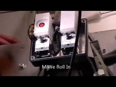 Диагностика оборудования пекарни: Печь ротационная MIWE ROLL-IN Обслуживание А-сервис