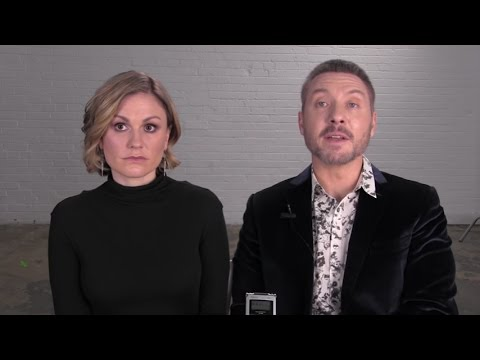 Anna Paquin and Shawn Doyle on their new series 'Bellevue'