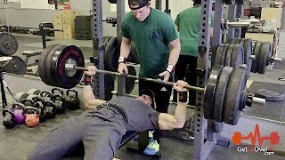 330 Pound Bench Press Personal Best - 46 Years Old at 198 Pounds