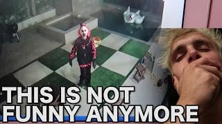 KILLER CLOWN BREAKS INTO OUR HOUSE (security footage)
