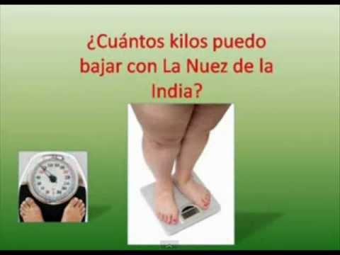 Nuez dela india para adelgazar colombiana