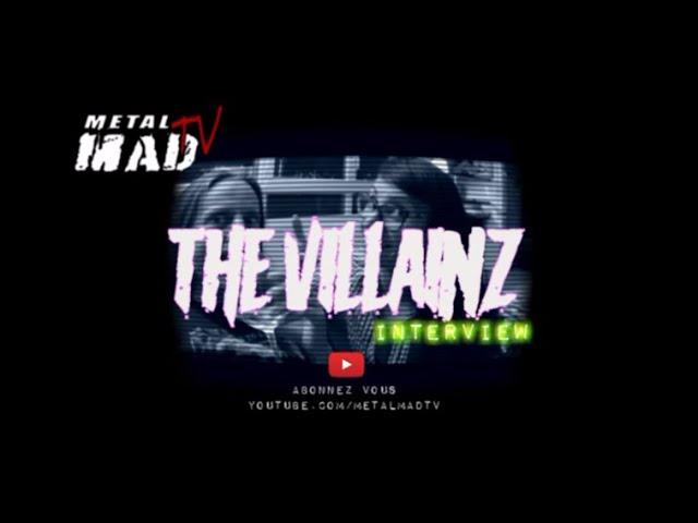 """Interview THE VILLAINZ """" Lockdown """""""