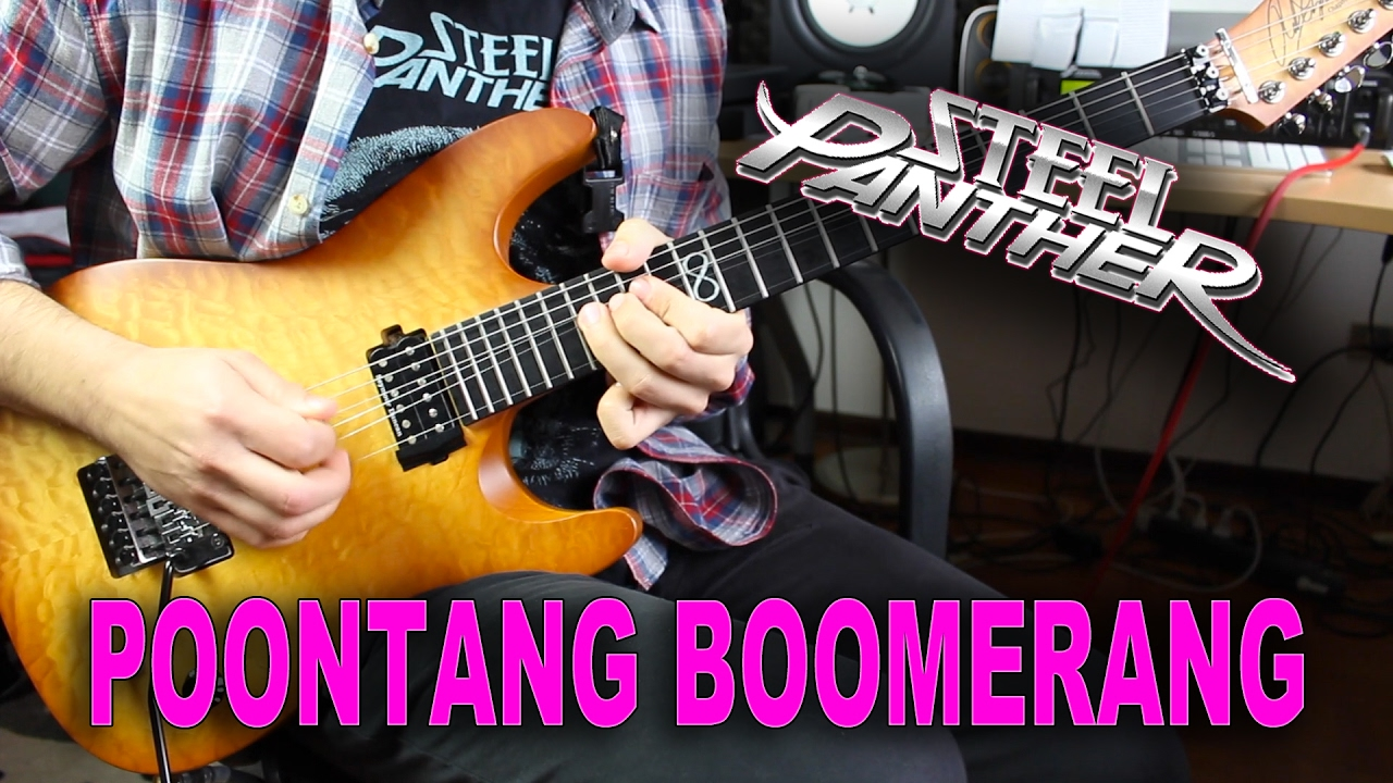 Steel Panther Poontang Boomerang Solo Cover Chords Chordify