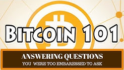Bitcoin & Cryptocurrency for Beginners | Ask the Stupid Questions You're Embaressed to Ask???