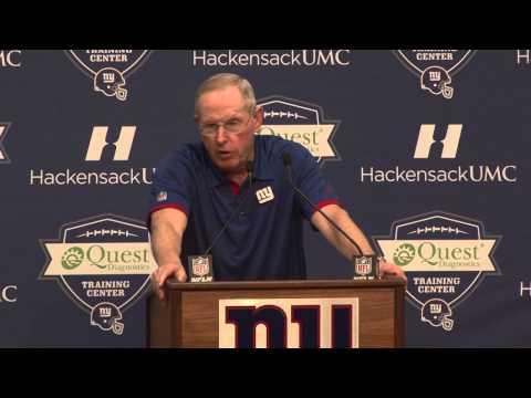 Tom Coughlin talks Jacksonville Jaguars