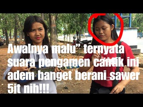 Kan ku lamar anak mu.!! Pengamen cantik dari Jakarta