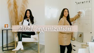 ORGANIZATION & HOME OFFICE DECOR HAUL 2021! Office Clean Out!