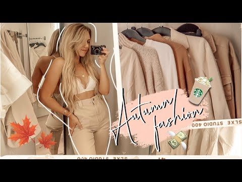COME AUTUMN FASHION SHOPPING WITH ME | TOPSHOP H&M NEW IN MANCHESTER VLOG