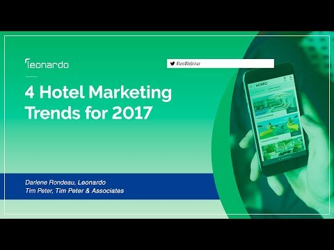Hotel Marketing Trends for 2017