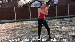 Shadow boxing drill 1
