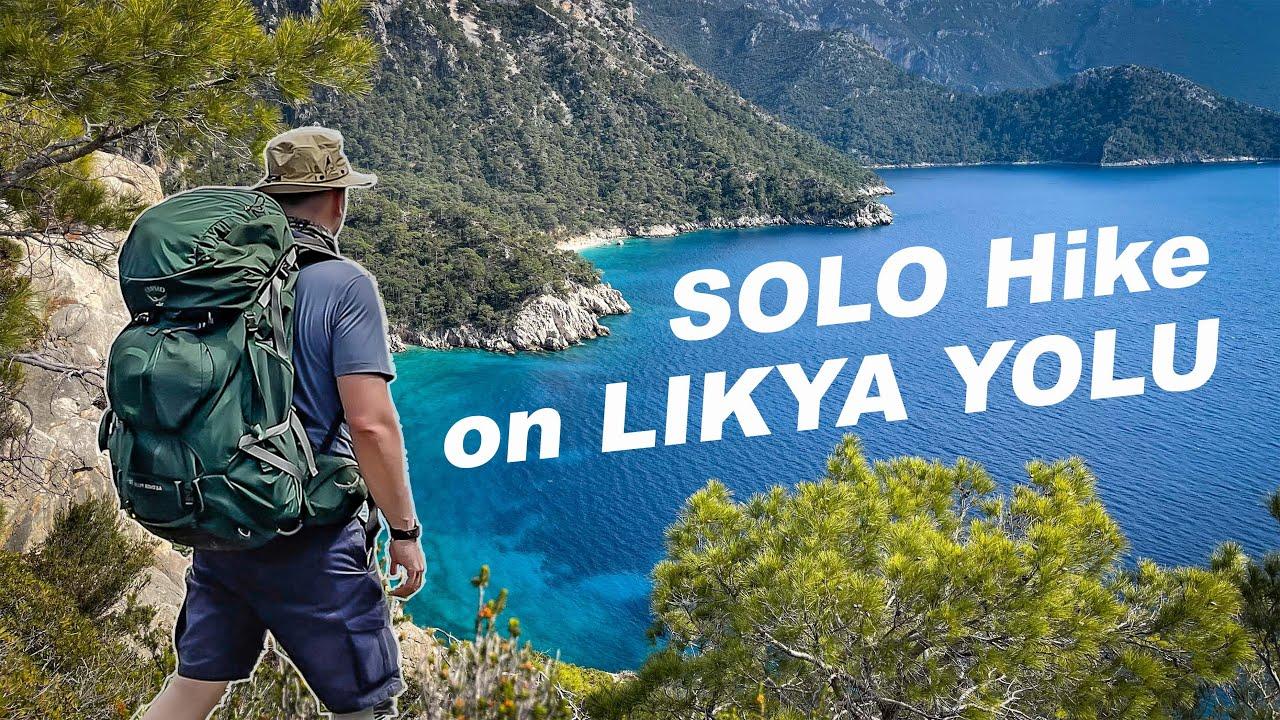 Likya Yolu [2021] - SOLO Hiking in TURKEY with Tent   Titanium HOBO Stove   Best BACKPACK - ASMR