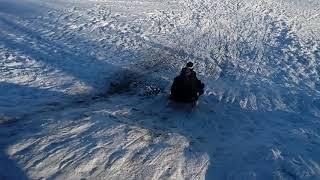 Зимний спуск