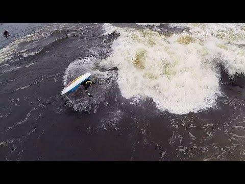 Big Wave Freestyle on the Ottawa River 2014