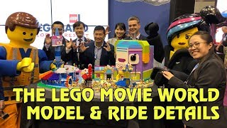 LEGO Movie World Masters of Flight ride details and model reveal for Legoland Florida | IAAPA 2018