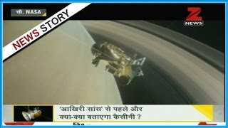 DNA: NASA's Cassini spacecraft set for second dive between Saturn and its rings