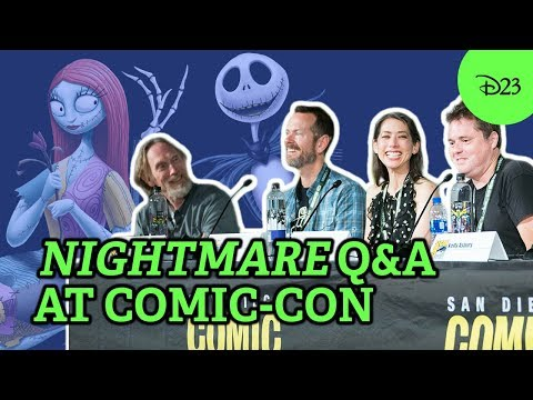 25 Years of Tim Burton's The Nightmare Before Christmas with D23 | SDCC 2018 Highlights Mp3