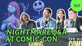 25 Years Of Tim Burton's The Nightmare Before Christmas With D23   SDCC 2018 Highlights