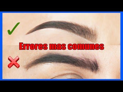 CEJAS PERFECTAS FACIL paso a paso y Errores de Maquillaje / Alin Pescina Makeup