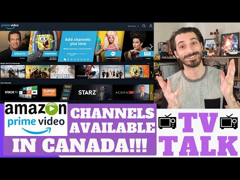 Amazon Prime Video Channels Now Available In Canada!