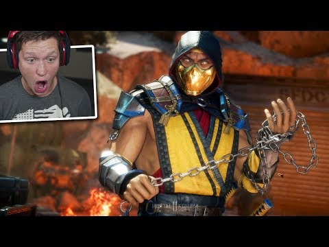 Mortal Kombat 11 - Part 1 - This Game is INSANE