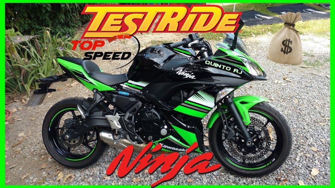 Kawasaki Ninja 650 (2018) - Test Ride+Top Speed/Valores/Ficha Técnica