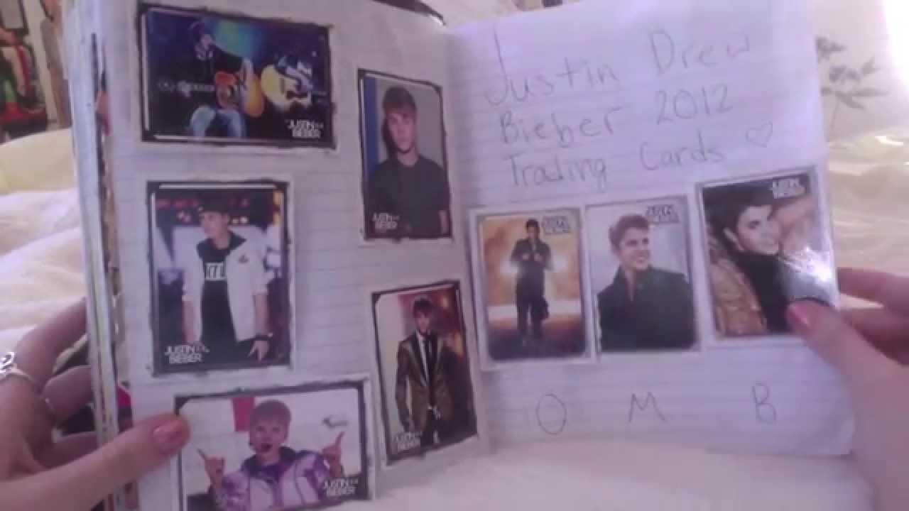 Justin bieber scrapbook ideas - My First Justin Bieber Scrapbook 2016 12 06