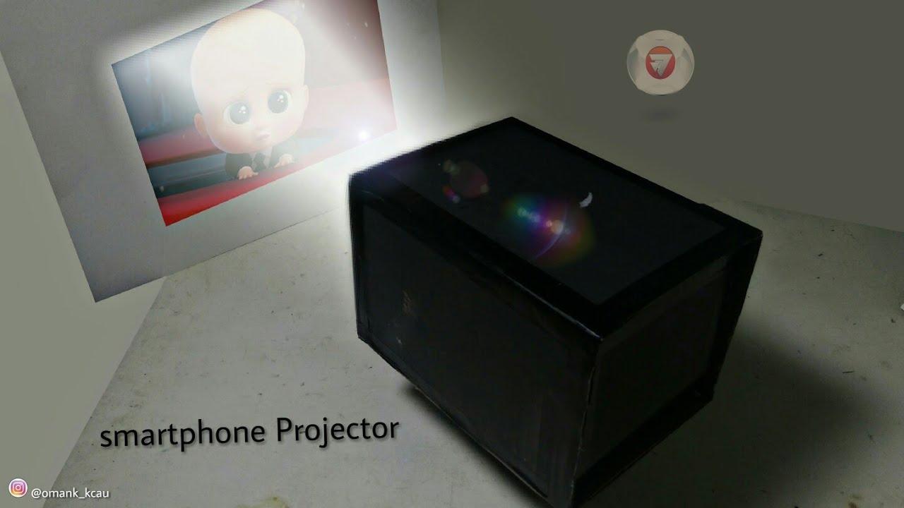 Cara membuat proyektor sendiri dirumah untuk smartphone