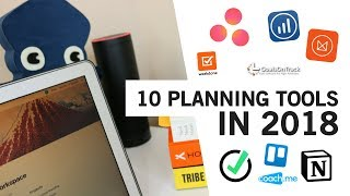 10 Apps for Planning Your 2018