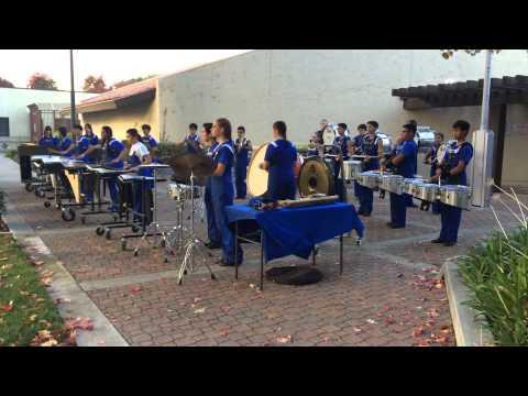 Santa Clara High School (SCHS) Marching Band - Logan 11/15/14