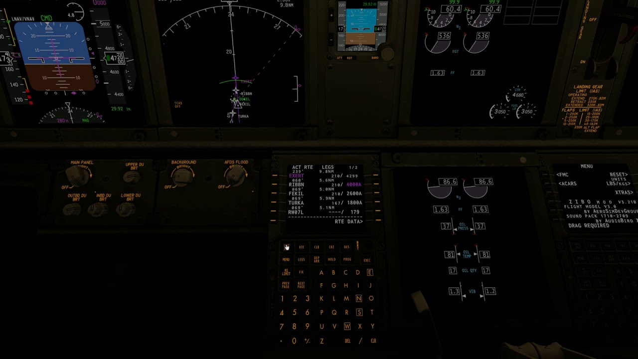 X-Plane 11 | Zibo 737-800 Fmc / Autopilot Tutorial Part 2  Micah Messer  31:23 HD